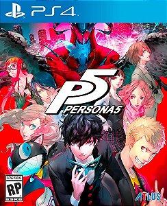 Jogo Mídia Física Persona 5 P5 Original Playstation 4 Ps4