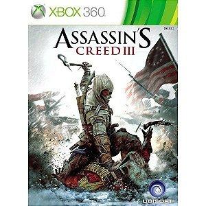 Jogo Mídia Física Lacrado Assassins Creed 3 Para Xbox 360