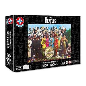 Quebra Cabeça Novo Puzzle Da Estrela The Beatles 500 Peças