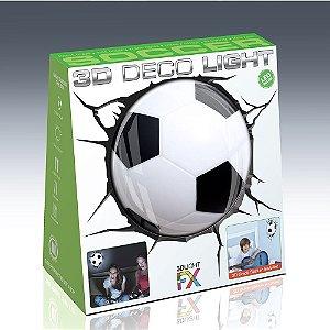 Nova Luminária Bola De Futebol 3d Deco Light Fx Beek