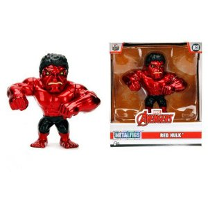 Boneco Red Hulk M321 Marvel The Avengers Metals Die Cast