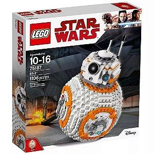 Brinquedo Novo Bloco De Montar LEGO Bb8 75187