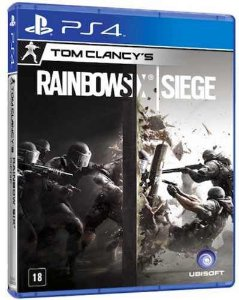 Jogo Novo Tom Clancys Rainbow Six Siege Para Playstation 4