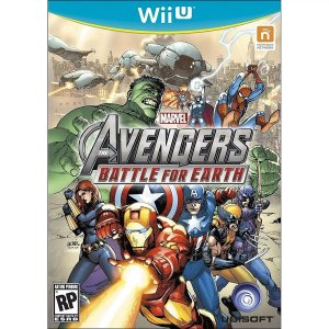 Jogo Mídia Física Avengers Battle For Earth Nintendo Wii U