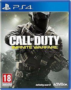 Jogo Mídia Física Call Of Duty Infinite Warfare Para Ps4