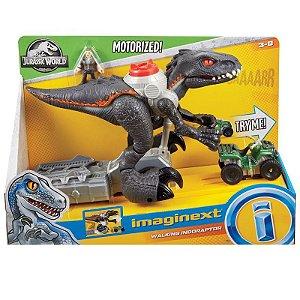 Brinquedo Boneco Imaginext Jurassic World Indoraptor Fmx86