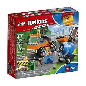 LEGO Juniors City Caminhão De Reparação Das Estradas 10750