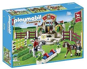 Brinquedo Lacrado Playmobil Country Show de Cavalos 5224