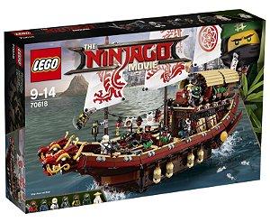 Brinquedo Lego Ninjago Navio Recompensa do Destino 70618