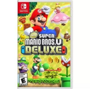 Jogo New Super Marios Bros U Deluxe Para Nintendo Switch