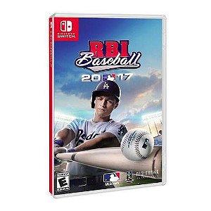 Jogo Mídia Física Rbi Baseball 2017 Para Nintendo Switch