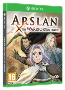 Jogo Mídia Física Arslan The Warriors Of Legends Xbox One