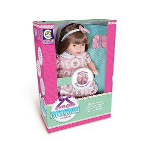 Boneca Bebê Bate Palminha da Cotiplás  Canção
