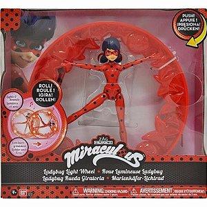 Brinquedo Miraculous Ladybug Roda Giratória Original Sunny