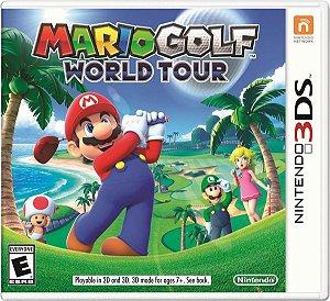 Jogo Novo Mario Golf World Tour Para Nintendo 3ds