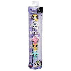 Bonecos Littlest Pet Shop Kit Com 6 Bonecos Aleatórios B9359