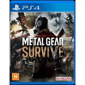 Jogo Mídia Física Metal Gear Survive Original Para Ps4
