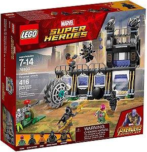 Brinquedo Lego Ataque Avassalador De Corvus Glaive 76103