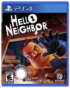 Jogo Novo Midia Fisica Hello Neighbor Lacrado para Ps4