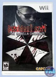 Jogo Resident Evil The Umbrella Chronicles Wii , Lacrado Usa