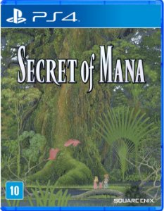 Jogo Mídia Física Secret Of Mana Original Para Playstation 4