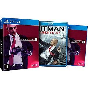 Jogo Novo Mídia Física Hitman 2 + Filme Para Playstation 4