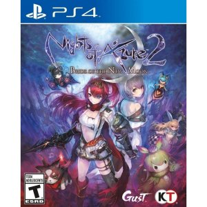 Jogo Mídia Física Nights of Azure 2 Bride the New Moon Ps4