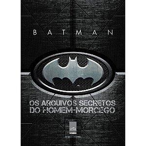 Novo Livro Batman Os Arquivos Secretos Do Homem Morcego Dc