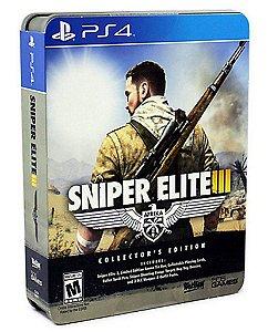 Jogo Novo Sniper Elite 3 Ediçao de Colecionador para Ps4