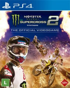 Jogo Monster Energy Supercross the Official Videogame 2 Ps4
