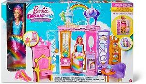 Nova Barbie Dreamtopia Castelo de Arco Iris FRB15