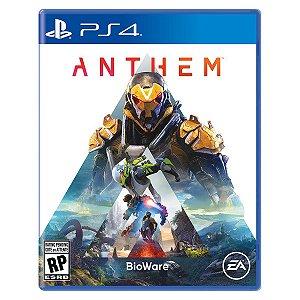Jogo Novo Midia Fisica Anthem EA Lacrado Original para Ps4