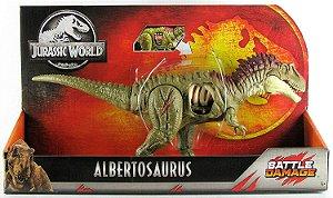 Boneco Jurassic World Battle Damage Albertosaurus GCX77
