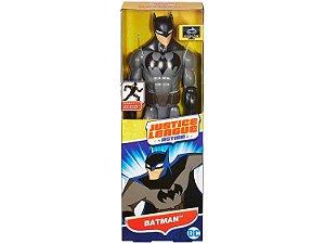 Boneco Liga da Justiça Action Batman Preto 30 cm Mattel