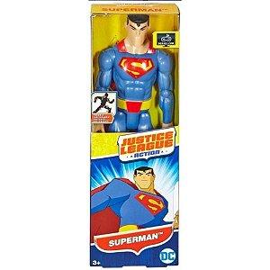 Boneco Liga da Justiça Action Superman 30 cm Dc Mattel