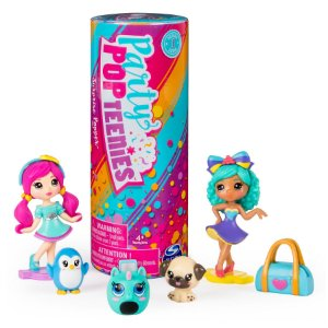 Brinquedo Boneca Surpresa Poppers Party Pop Teenies Series 1