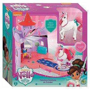 Brinquedo Nella Fabuloso Estábulo Da Trinket  DTC 4833