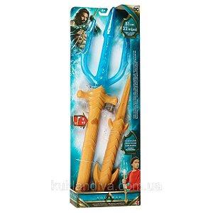 Brinquedo Aquaman Tridente de Luxo ate 81 cm Hasbro Fwx32
