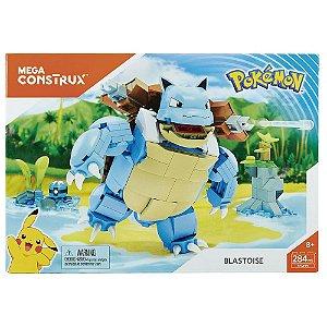 Mega Construx  Pokémon Blastoise 284 Peças Mattel FPM99