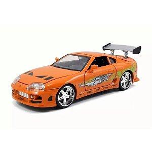 Mini Veiculos Velozes e Furiosos Die Cast Brian Toyota Supra