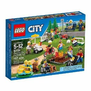 Brinquedo Lego Diversão No Parque Pack Pessoas Cidade 60134