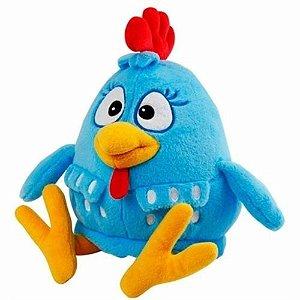 Nova Brinquedo Pelucia com Som Galinha Pintadinha Dtc 4994