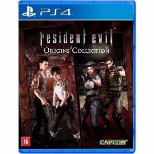 Jogo Novo Midia Fisica Resident Evil Origins Collection Ps4