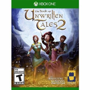 Jogo Novo Lacrado The Book Of Unwritten Tales 2 Xbox One