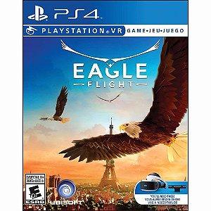 Jogo Mídia Física Eagle Flight Para Playstation Ps4 Vr
