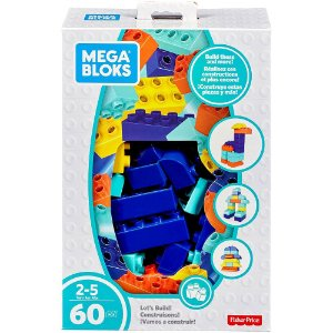 Mega Bloks Pre Build Criando Hist 60 Peças Mattel Fly43