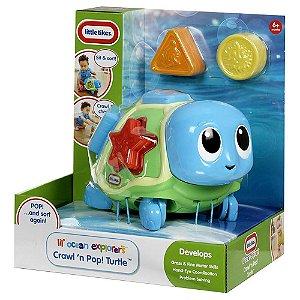 Brinquedo Tartaruga Educativo Candide Little Tikes