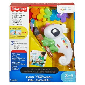 Camaleão das Cores Think & Learn  Fisher Price FBR76