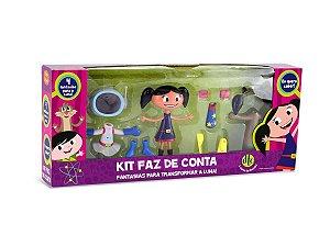 Kit Faz De Conta Com Fantasias O Show Da Luna Da DTC 4458