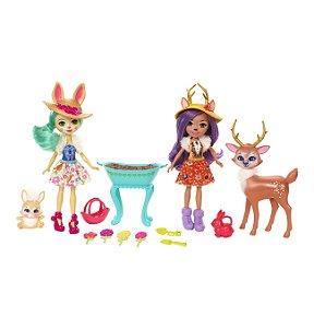 Boneca Enchantimals Conjunto Jardim Magico Mattel Fdg01